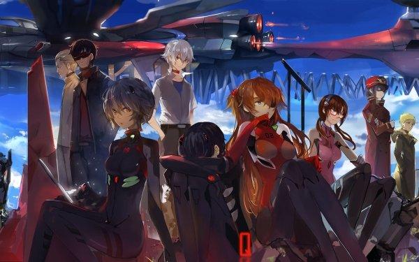 Anime Evangelion: 3.0 You Can (Not) Redo Evangelion Neon Genesis Evangelion Rei Ayanami Asuka Langley Sohryu Mari Makinami Illustrious Kaworu Nagisa Shinji Ikari Fondo de pantalla HD | Fondo de Escritorio