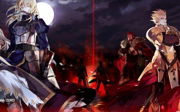 Anime Fate/Zero Fate Series Saber Gilgamesh HD Wallpaper | Background Image