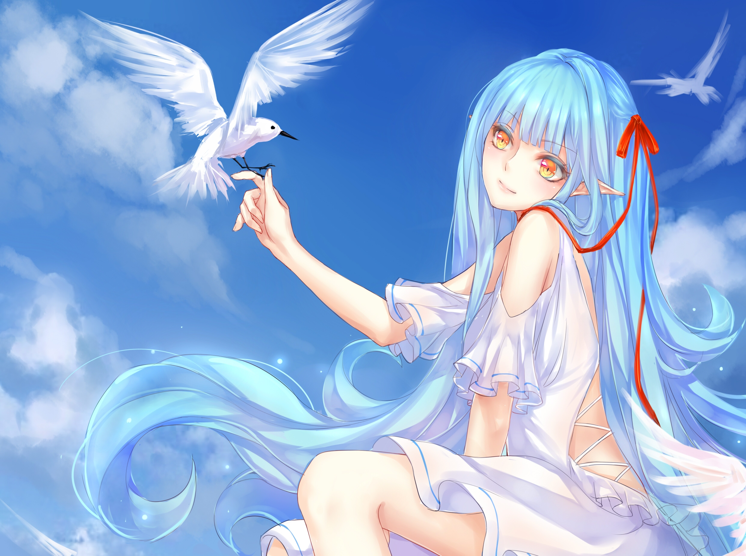 Anime Art Viii Hd Wallpaper Background Image 2480x1848 Id