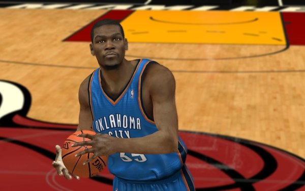 Video Game NBA 2K12 Kevin Durant HD Wallpaper | Background Image