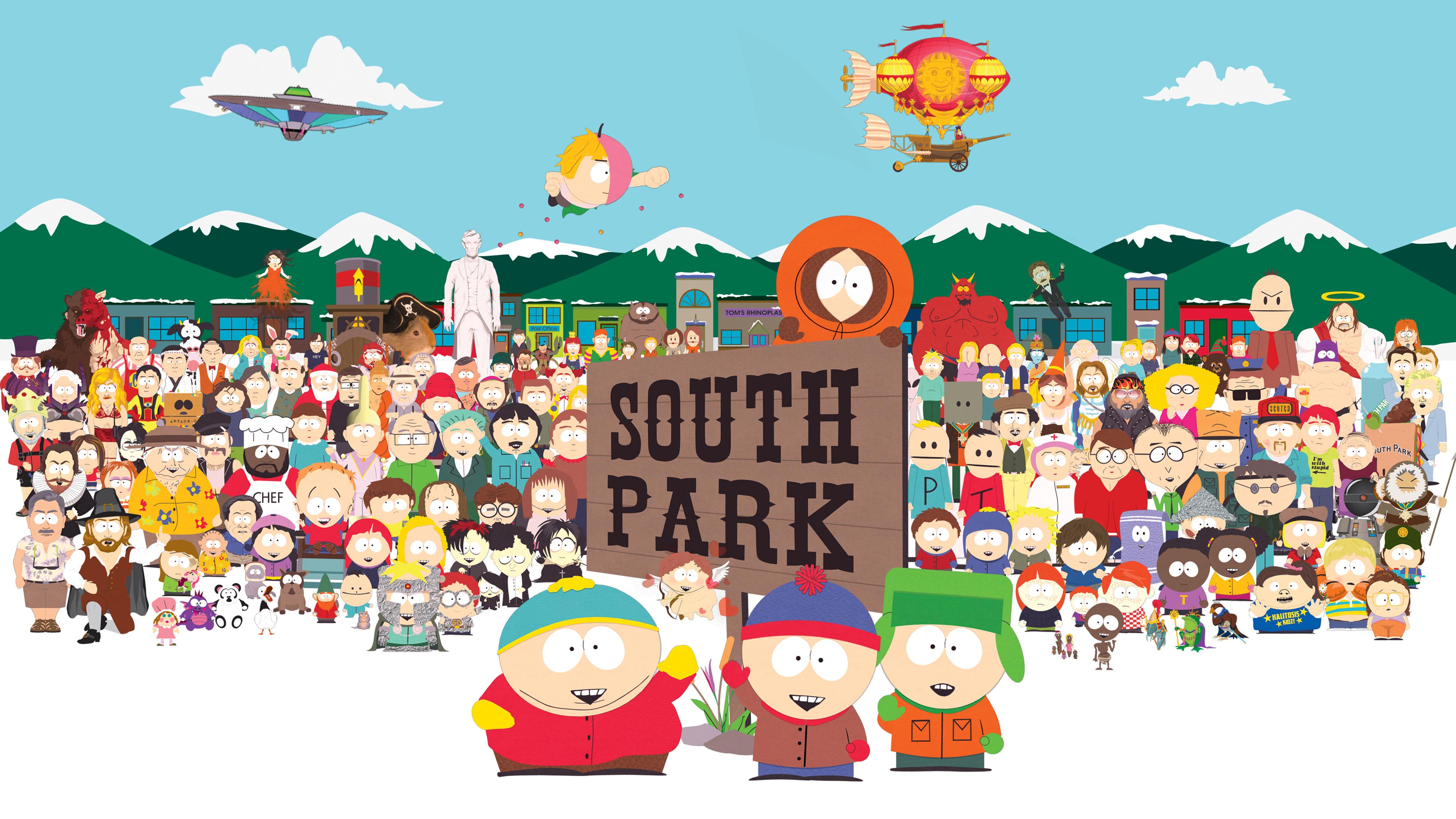 South Park 4k Ultra Fondo De Pantalla Hd Fondo De