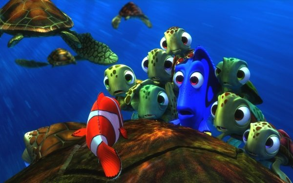 Movie Finding Nemo Marlin Dory HD Wallpaper   Background Image