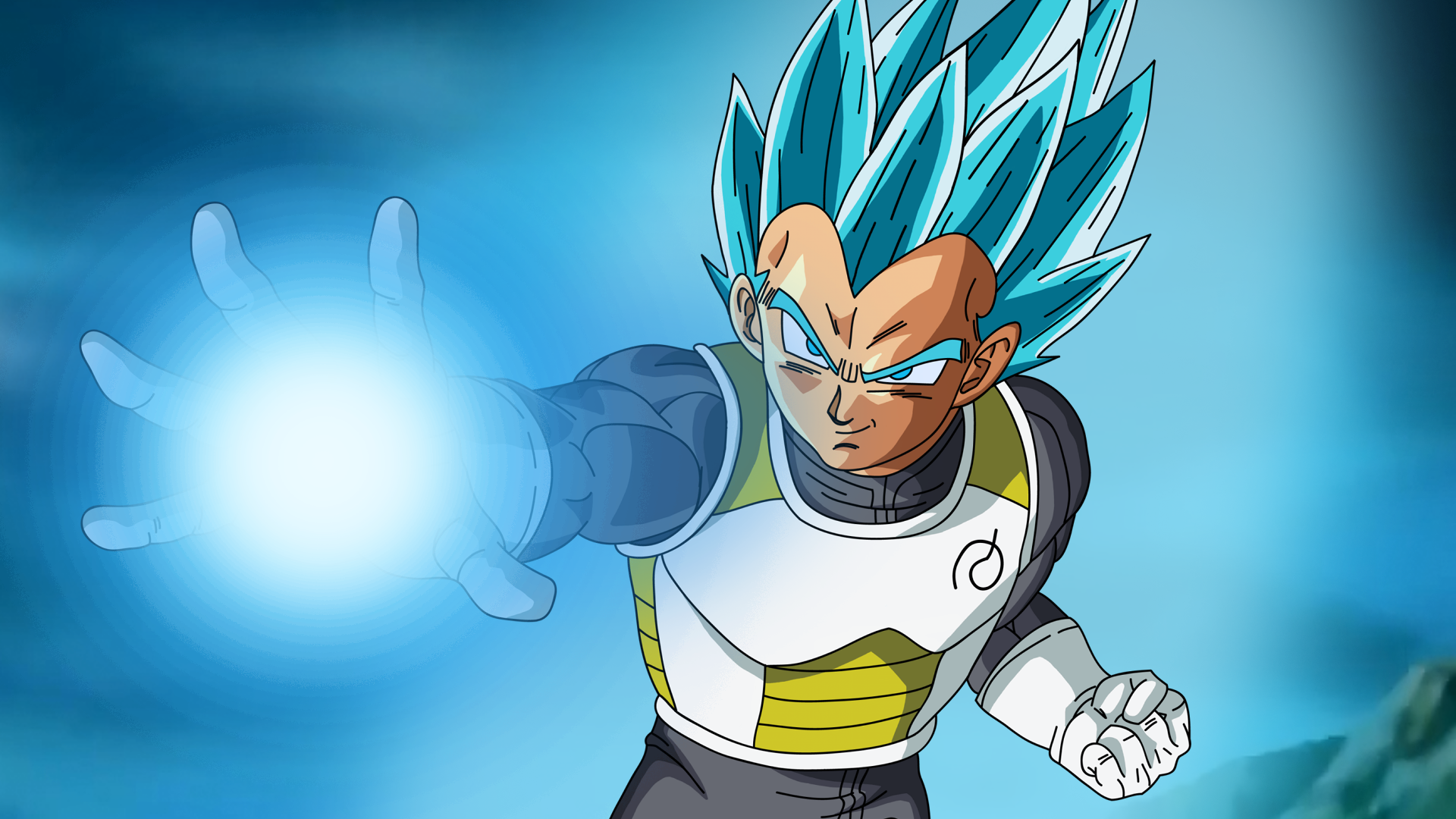 SSGSS Vegeta Full HD Wallpaper And Background Image