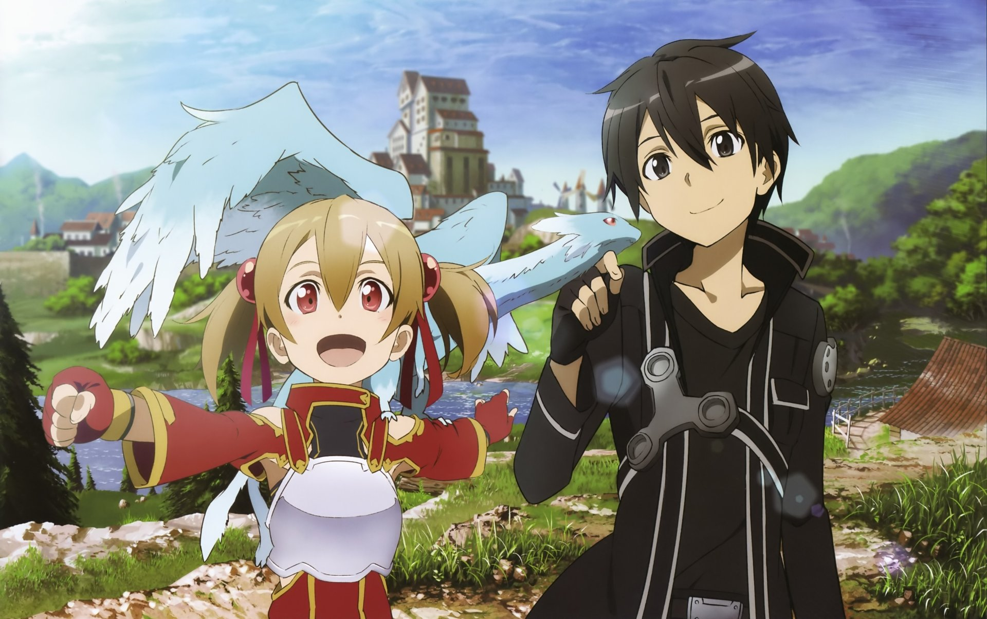 Silica and Kirito 4k Ultra HD Wallpaper and Background ...
