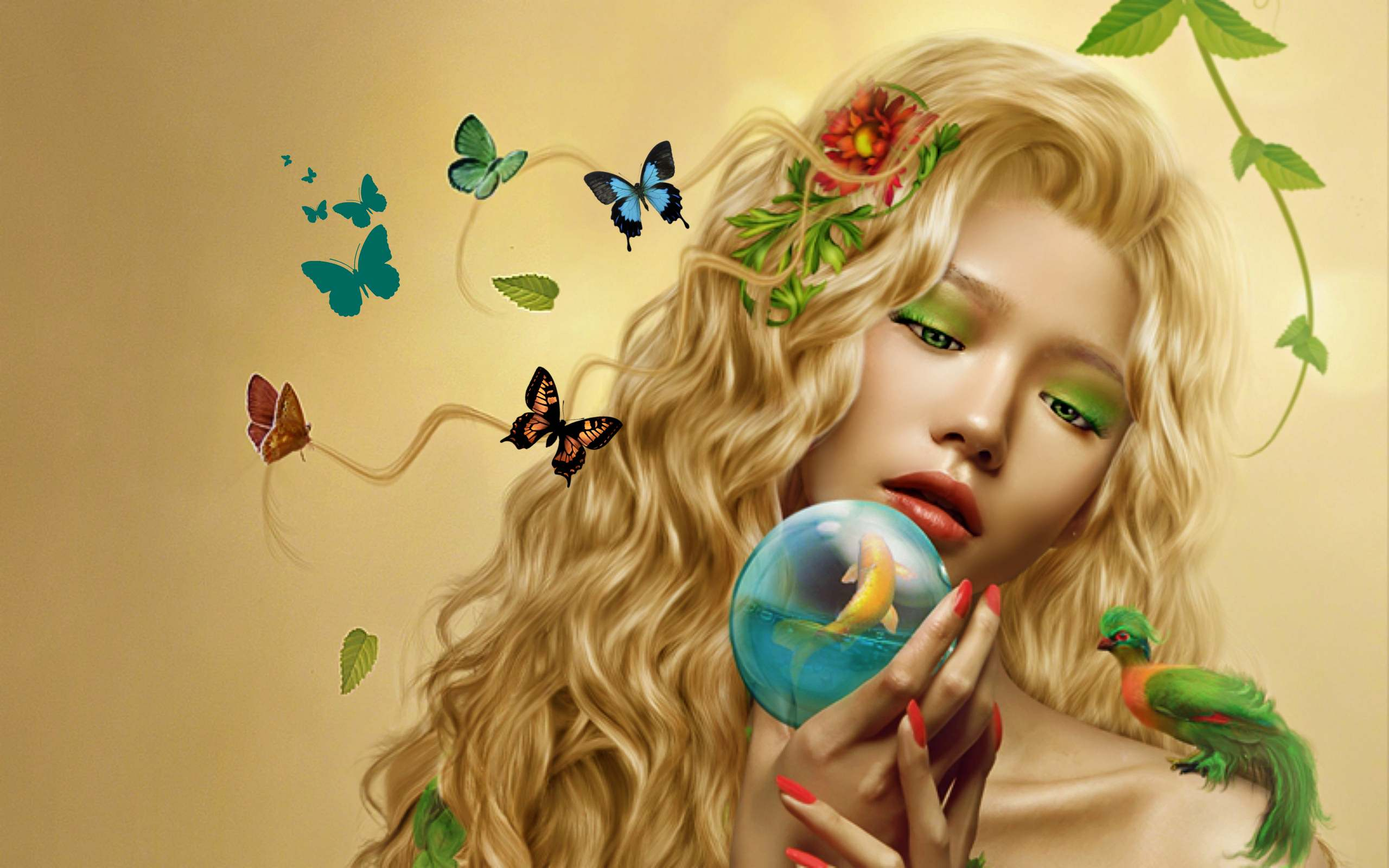 gaea, goddess of the earth hd wallpaper | background image