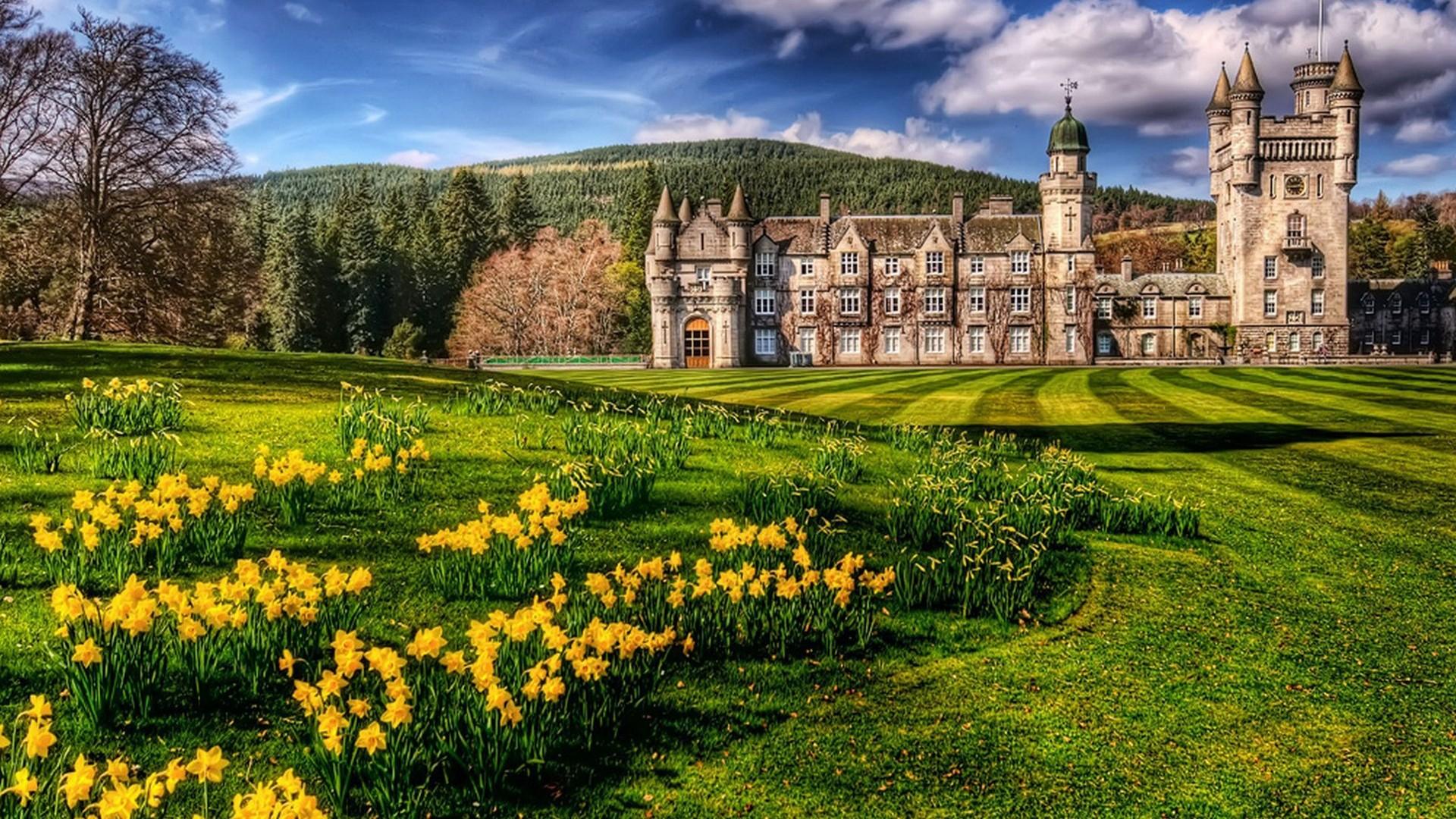 Castle in england full hd fond d 39 cran and arri re plan for Fond ecran uni