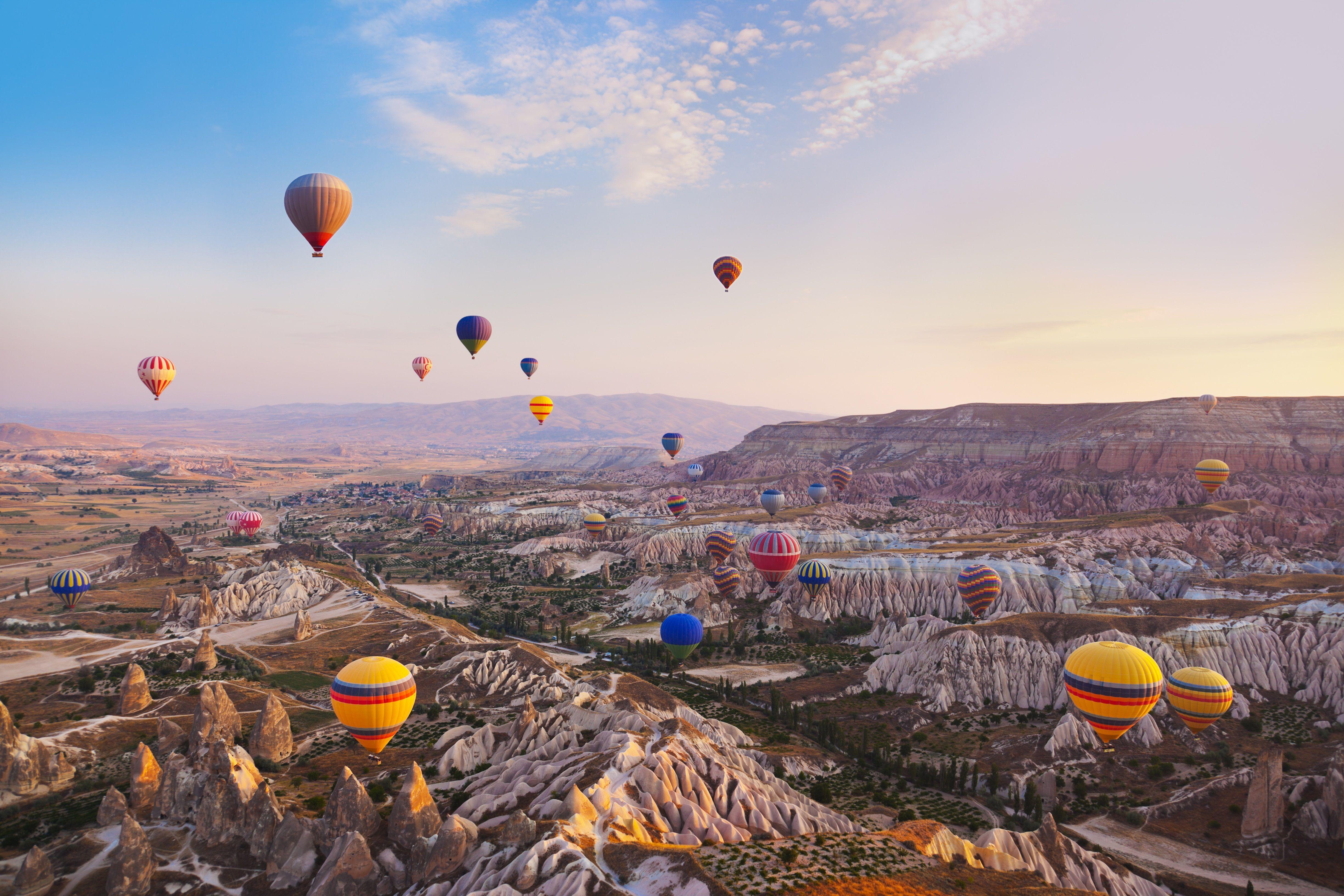 Cappadocia Turkey 4k Ultra Fondo De Pantalla Hd Fondo De