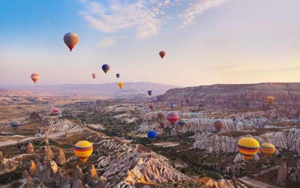 Vehicles Hot Air Balloon HD Wallpaper | Background Image