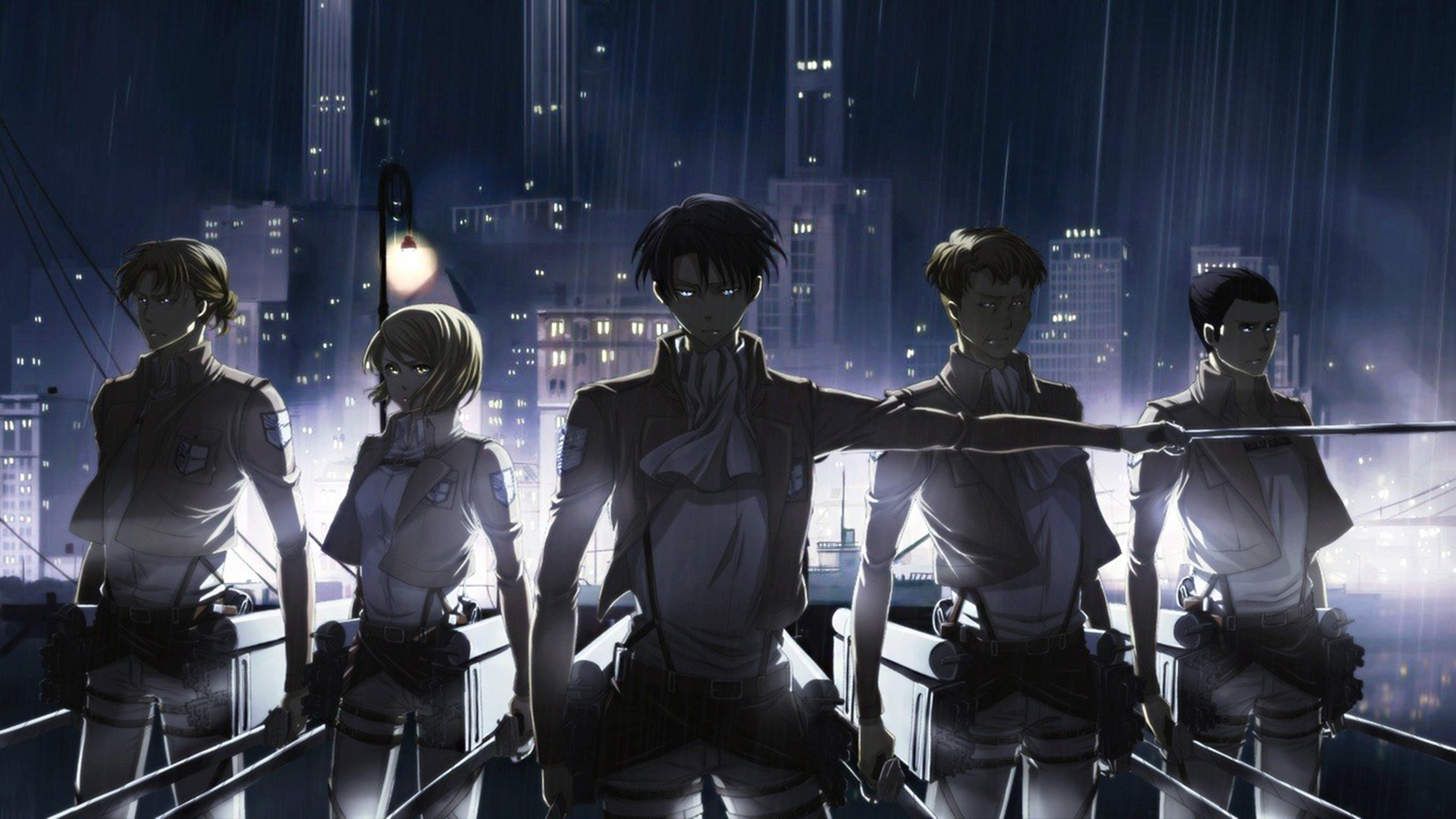 Attack On Titan Wallpaper And Background Image 1600x900 Id 679712 Wallpaper Abyss