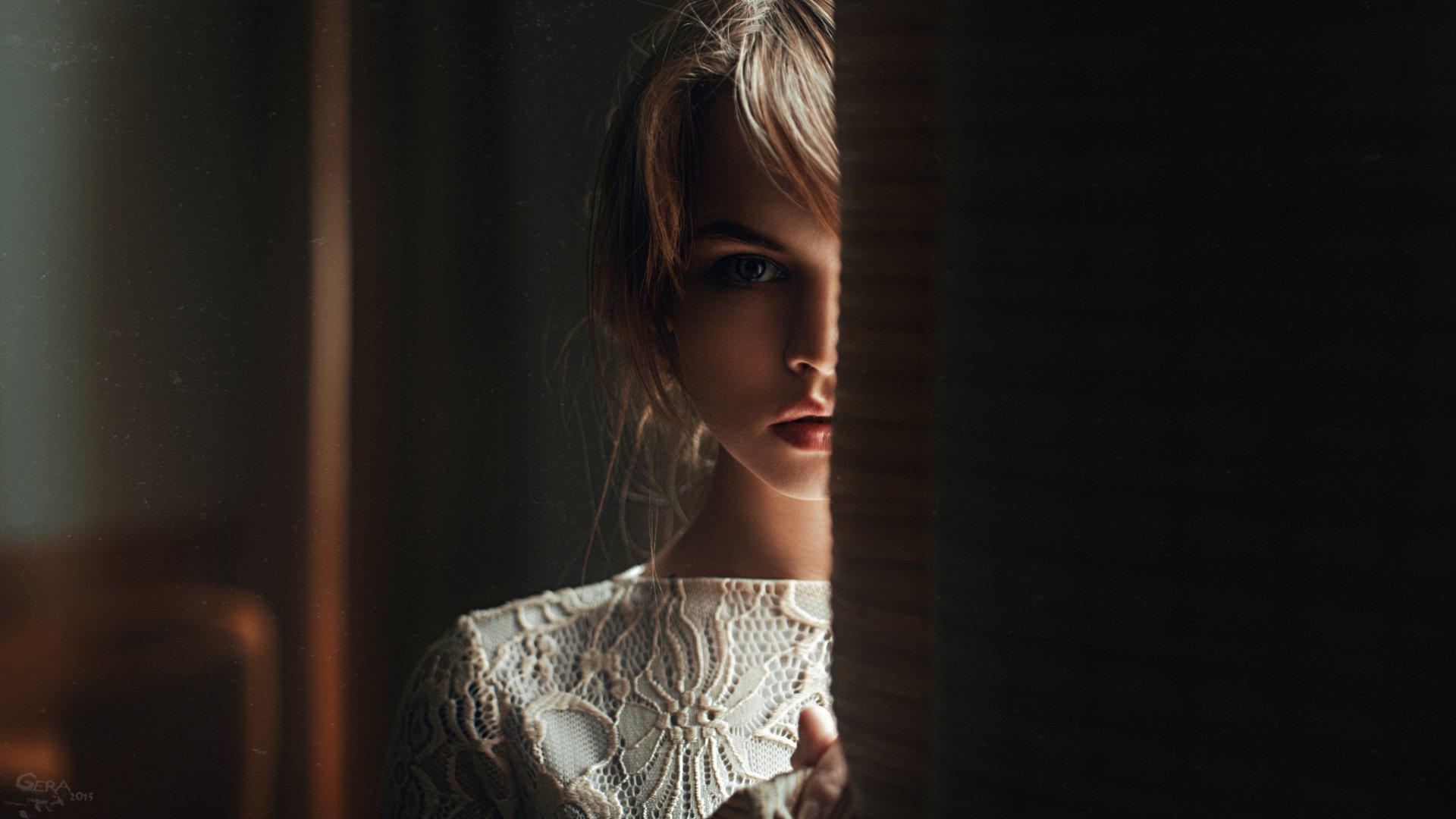 Women - Anastasiya Scheglova  Woman Model Brunette Mood Wallpaper