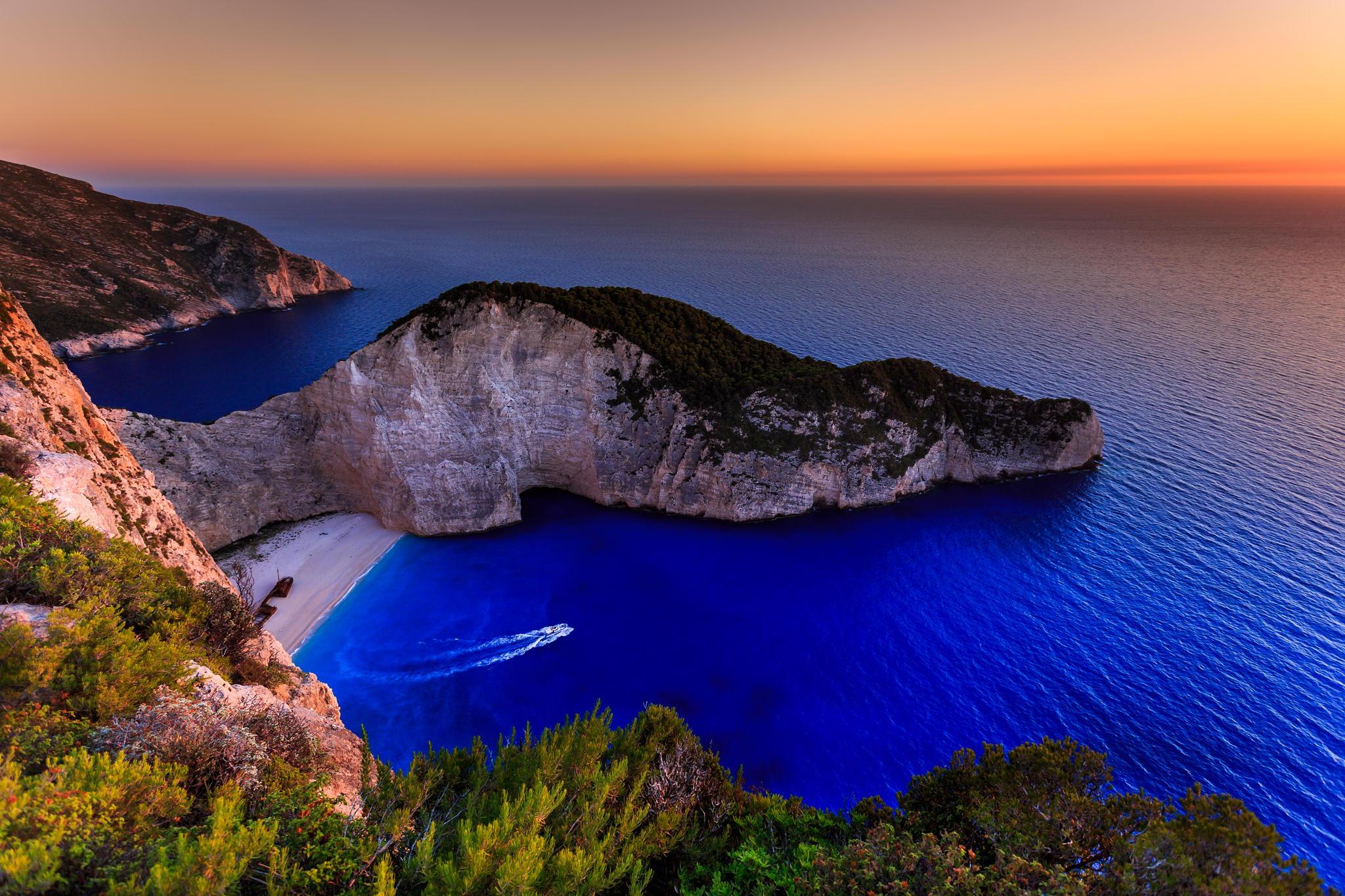 Обои для рабочего стола пляжи греции