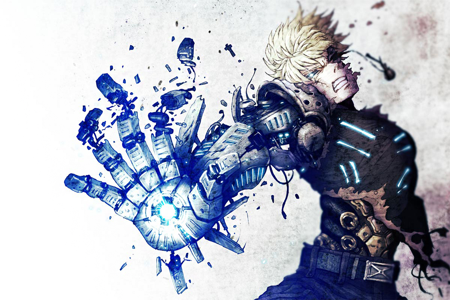 94 genos onepunch man hd wallpapers backgrounds