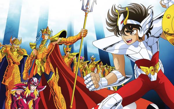 Anime Saint Seiya Pegasus Seiya Poseidon HD Wallpaper | Background Image