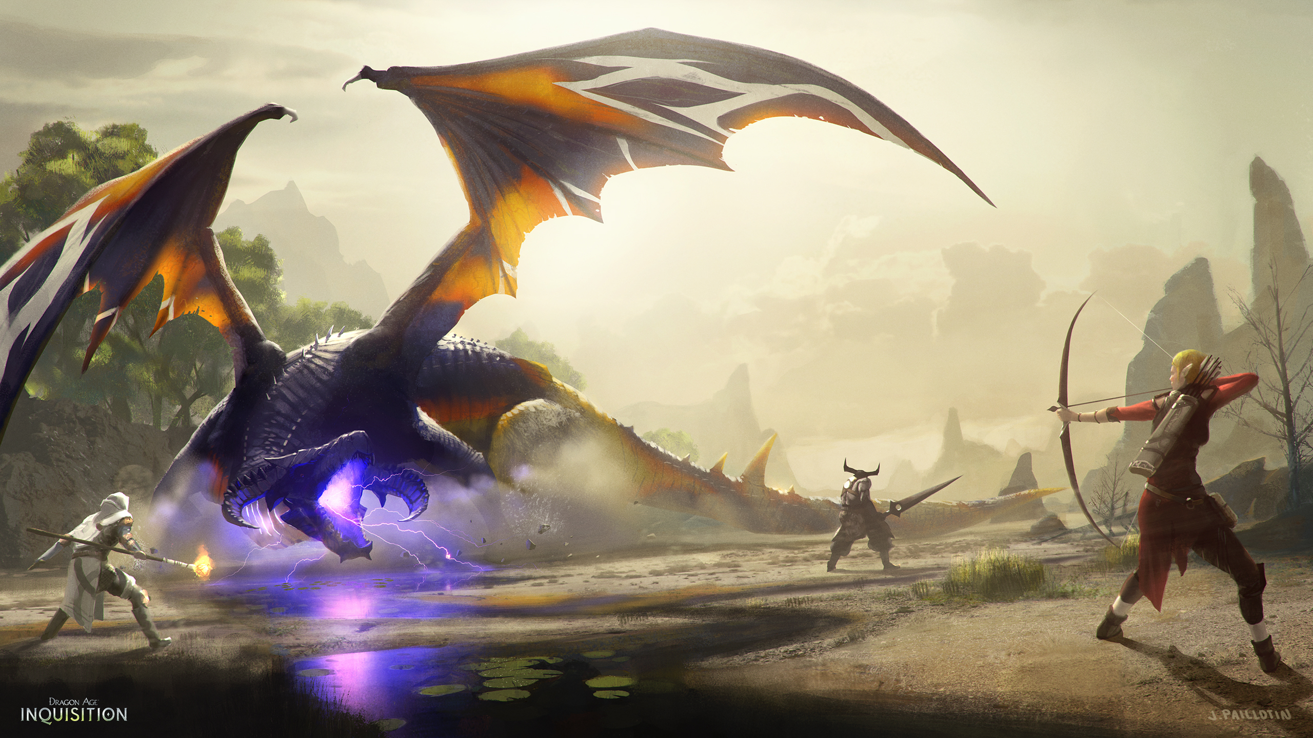 dragon age: inquisition full hd wallpaper and background