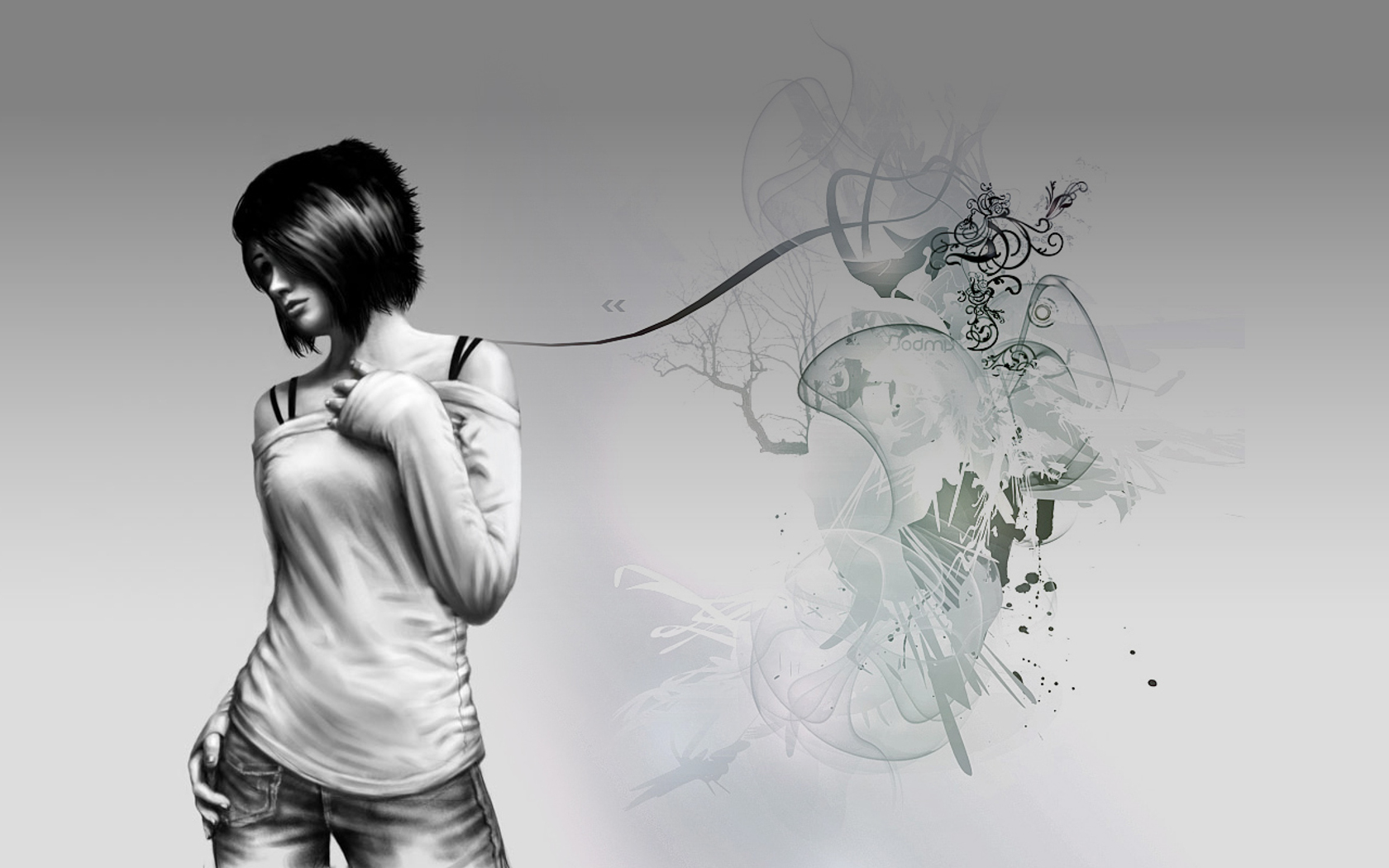artistic wallpaper and background | 1680x1050 | id:68142