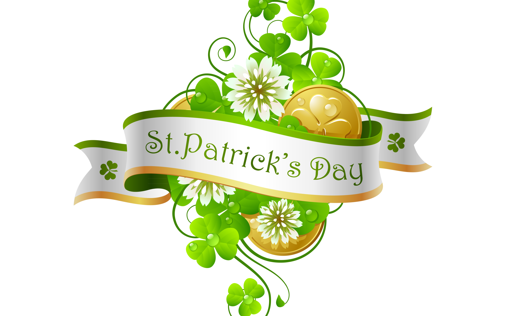 Holiday - St. Patrick's Day  Clover Wallpaper