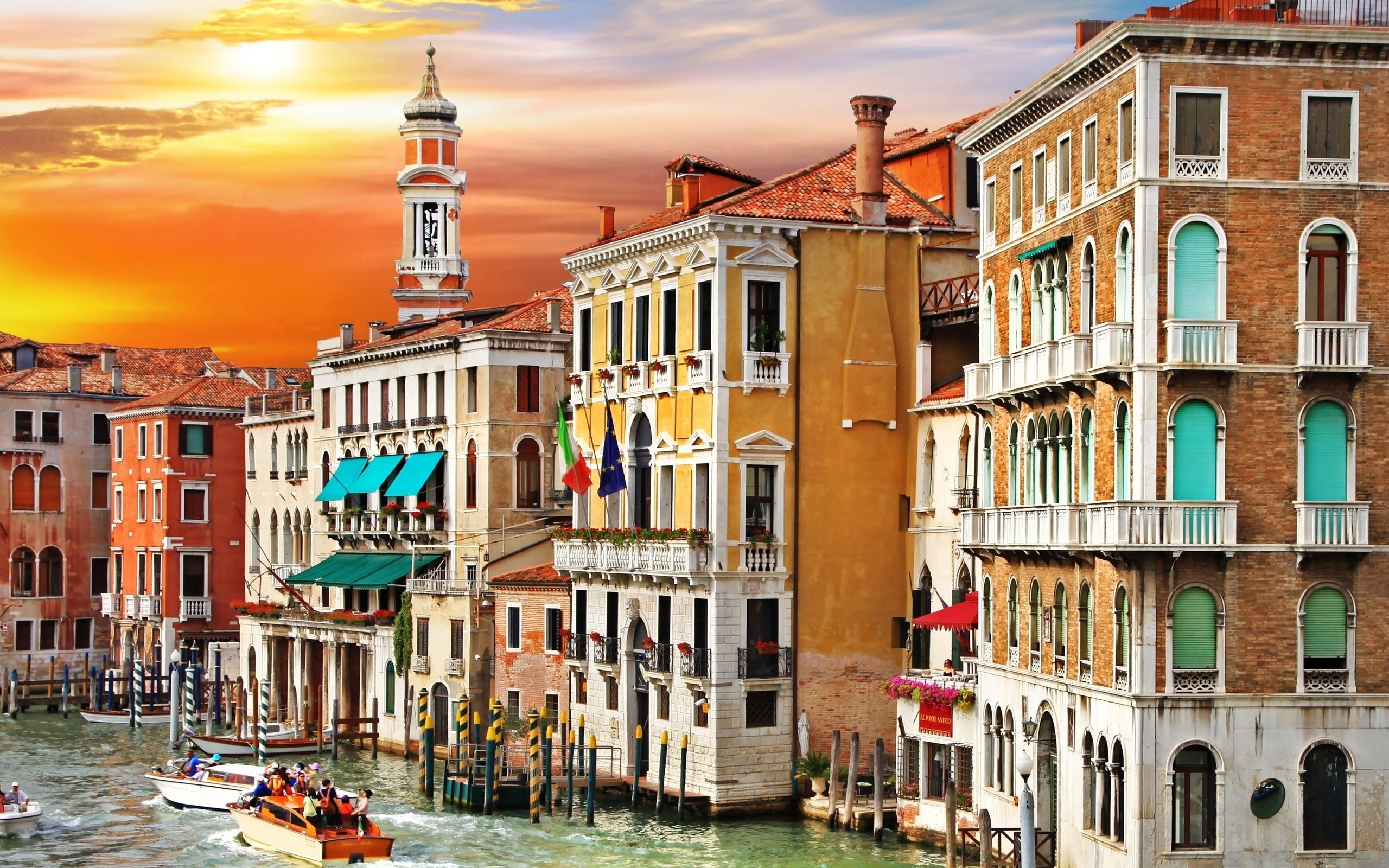 Обои canal grande, венеция, italy, venice, Venezia, гранд-канал. Города foto 17