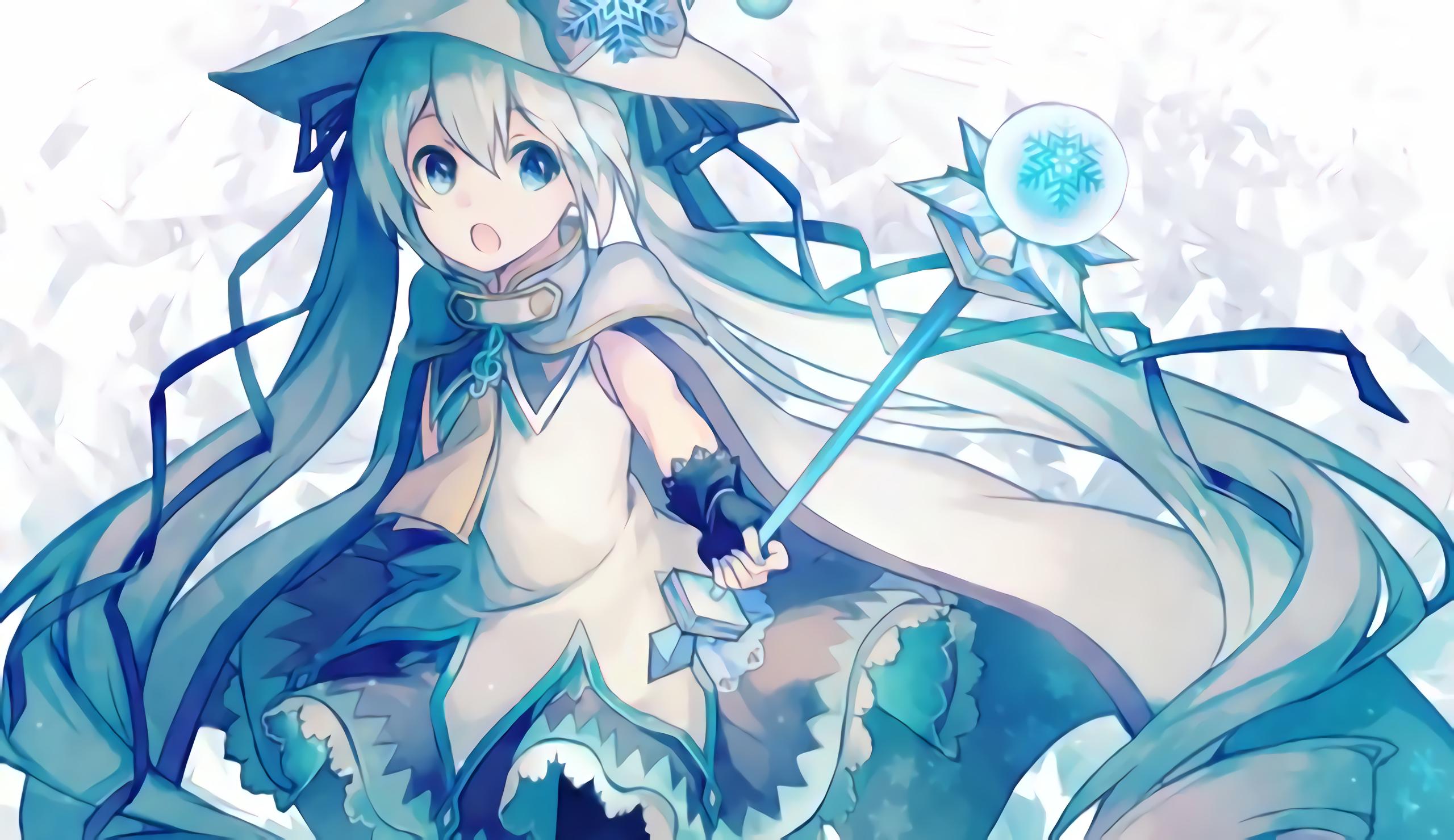 Vocaloid iphone wallpaper tumblr - Anime Vocaloid Hatsune Miku Girl Blue Hair Long Hair Wallpaper