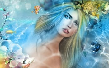 151 Mermaid HD Wallpapers | Backgrounds - Wallpaper Abyss - Page 5