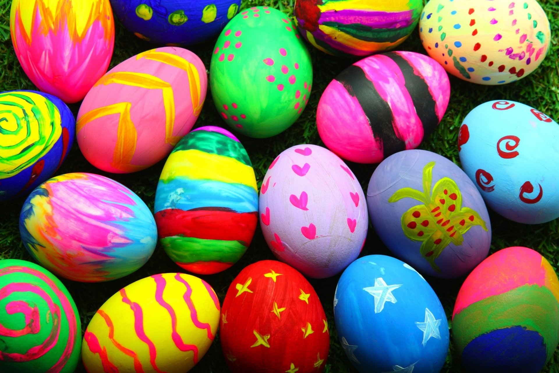 Holiday - Easter  Holiday Easter Egg Egg Colors Colorful Wallpaper