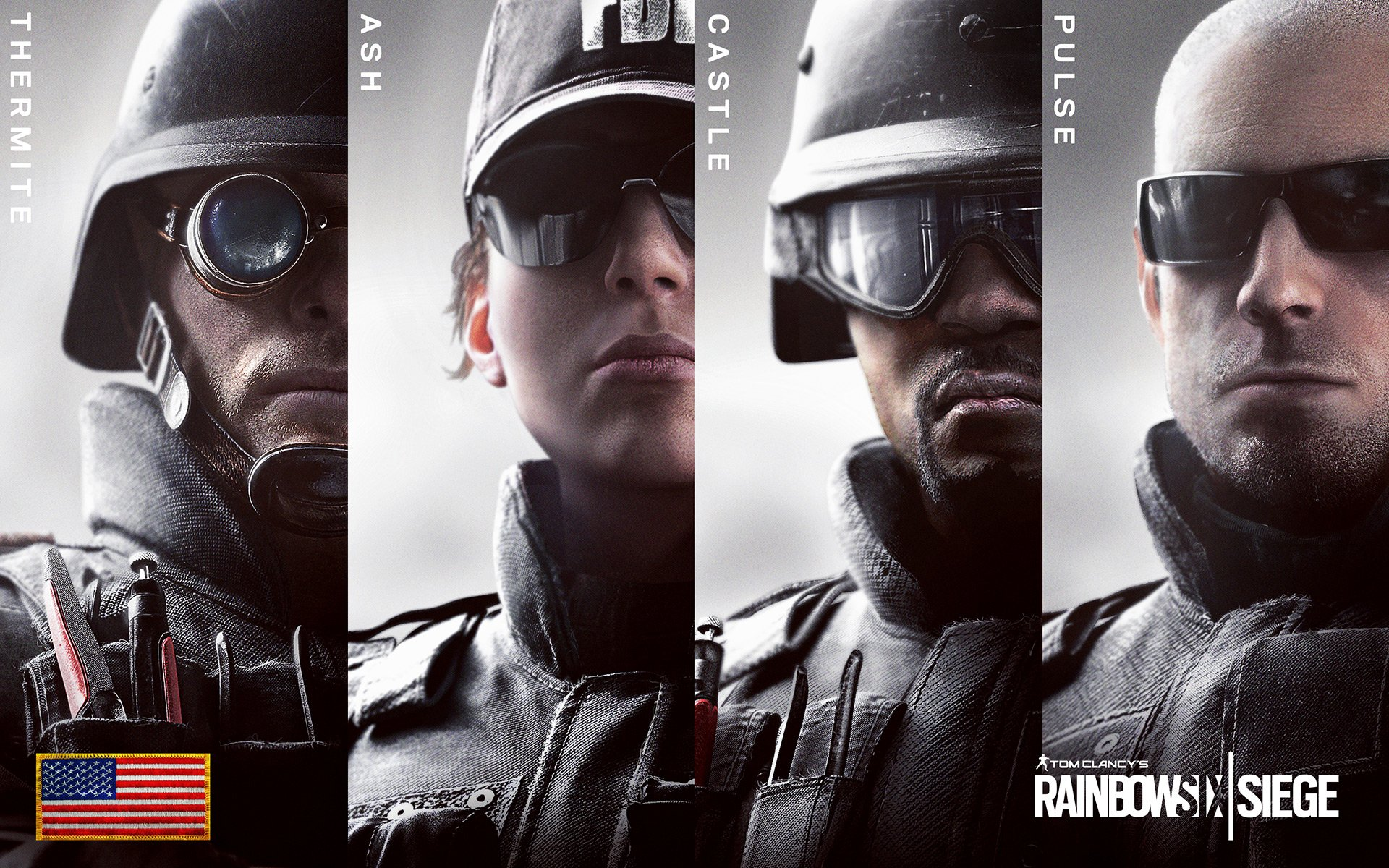 Rainbow six siege us full hd fond d 39 cran and arri re for Fond ecran r6
