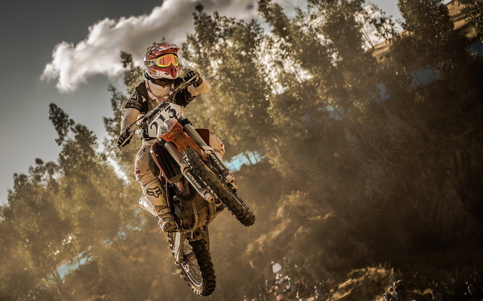 Moto G4 Wallpaper: Moto-cross Fond D'écran HD