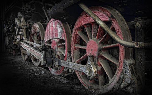 Vehicles Locomotive Close-Up HD Wallpaper   Background Image