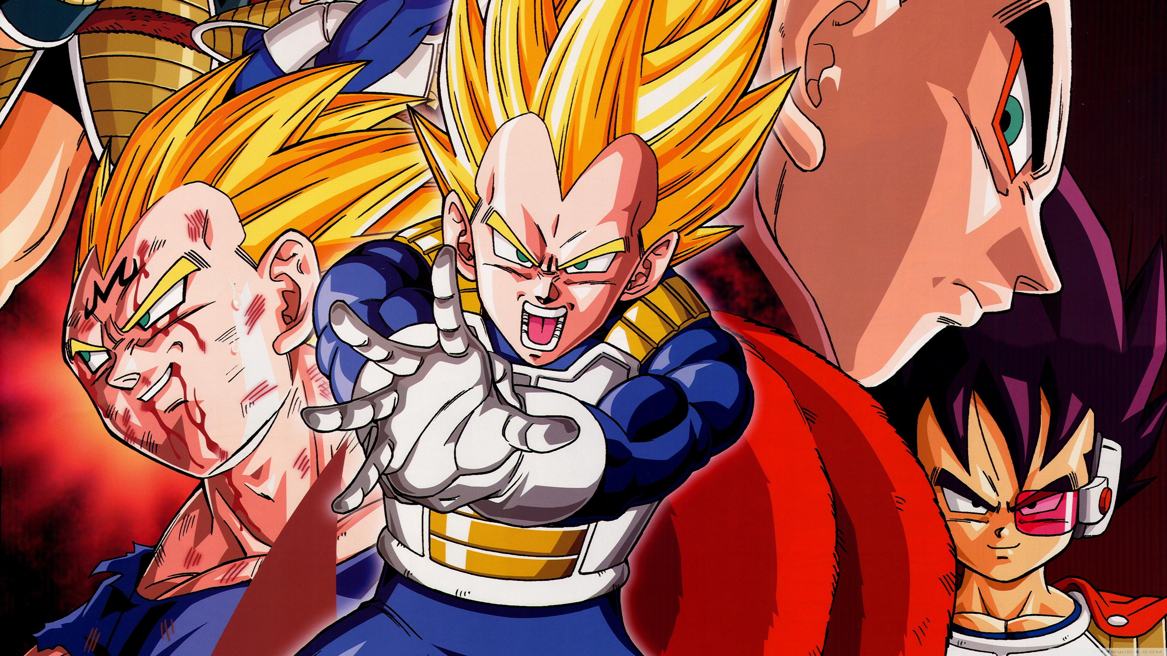 Dragon Ball Z 4k Ultra Fond Décran Hd Arrière Plan 3840x2160