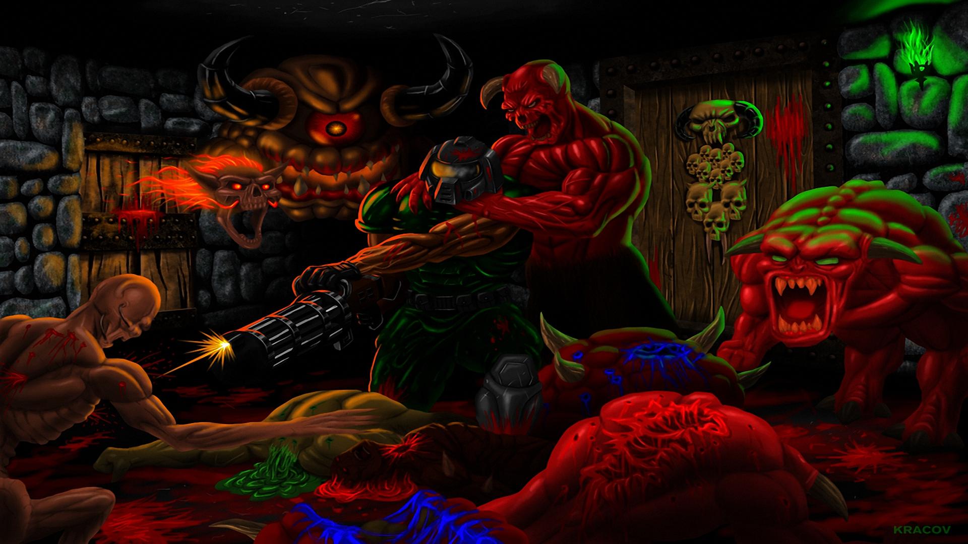 brutal doom hd wallpaper | background image | 1920x1080 | id:686969