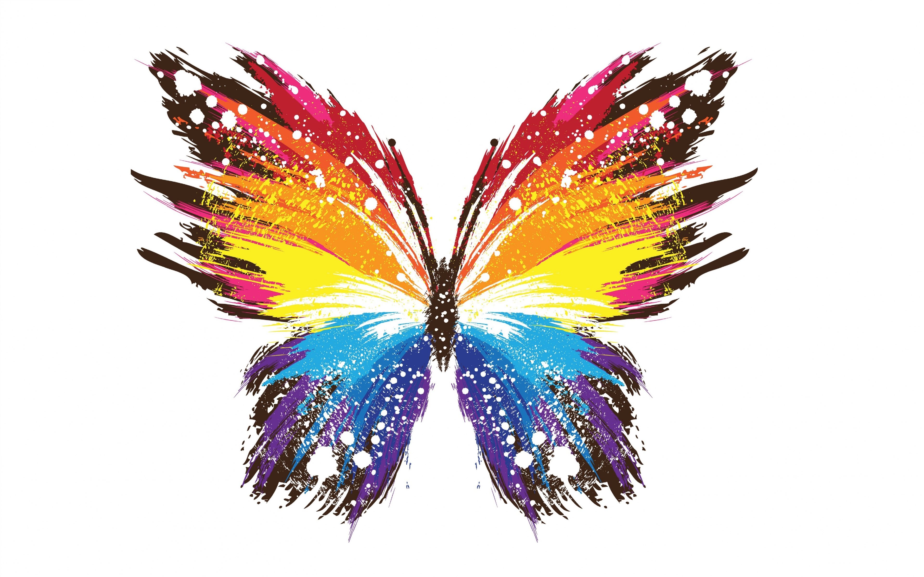 Abstract Butterfly 4k Ultra Hd Wallpaper Background Image 3840x2400 Id 686992 Wallpaper Abyss