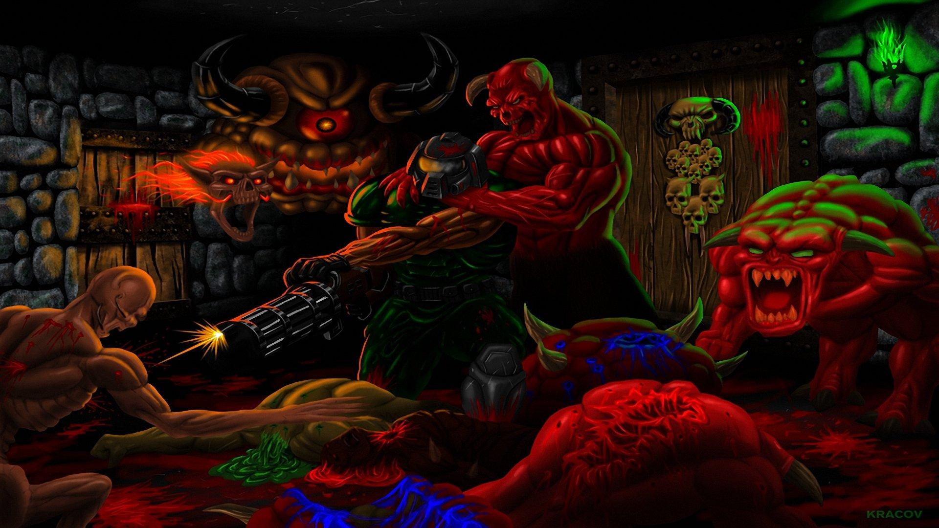 brutal doom wallpaper - photo #1