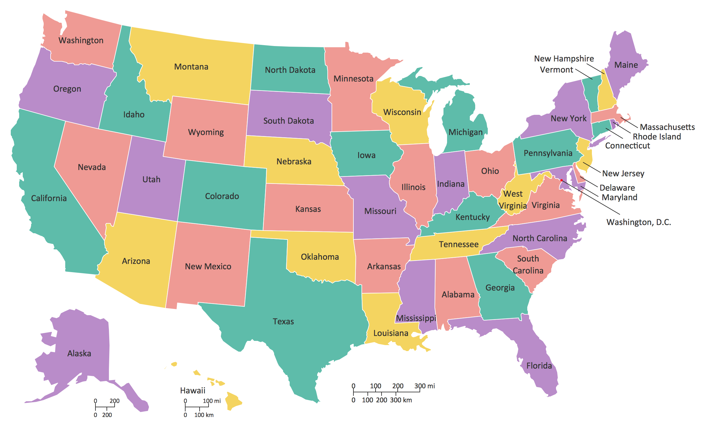 15 Map Of The Usa HD Wallpapers | Background Images ...