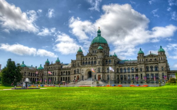 Photography HDR Man Made Building Canada Monument Dome Park HD Wallpaper   Background Image