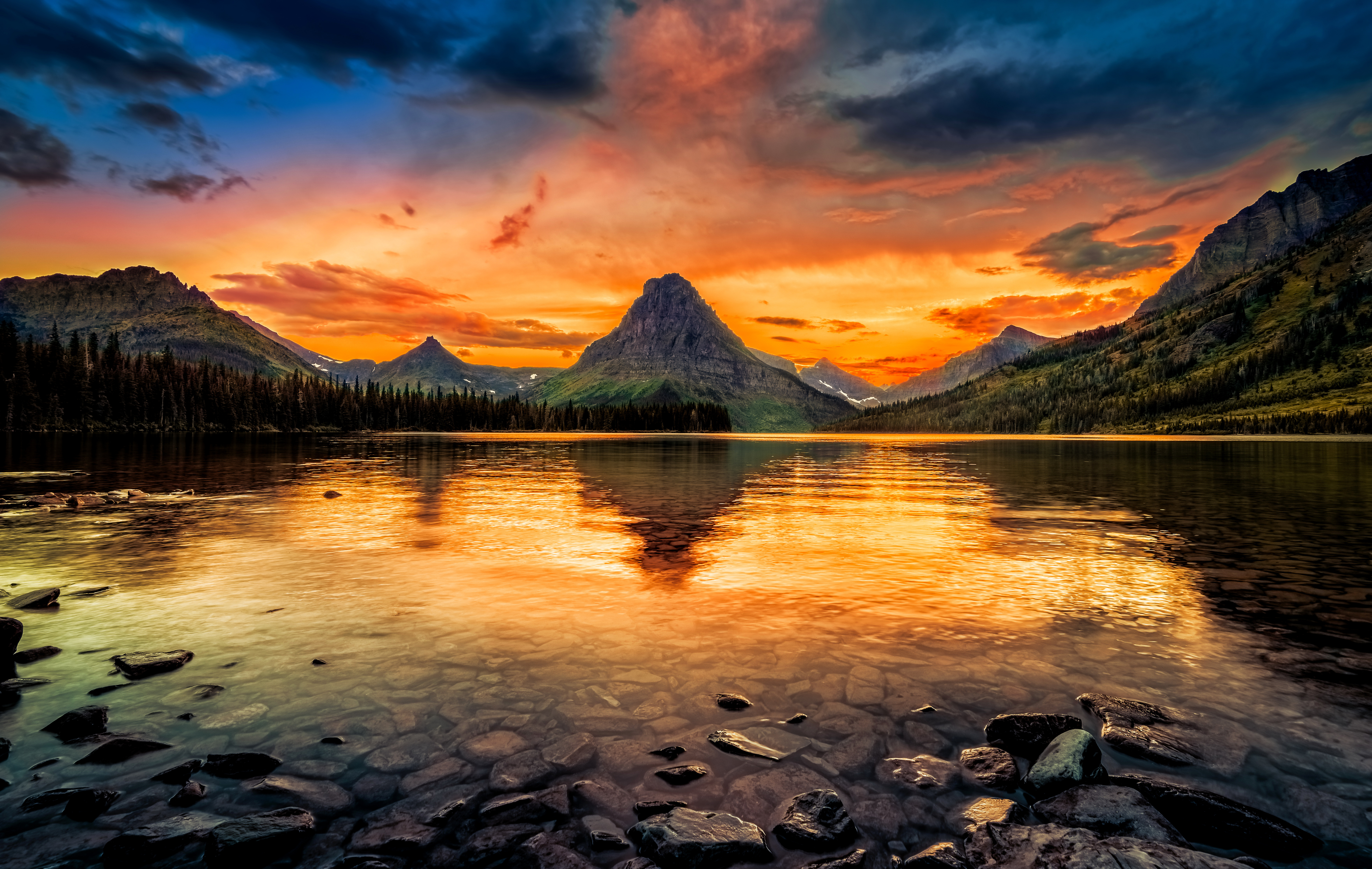 41 Glacier National Park Hd Wallpapers Background Images