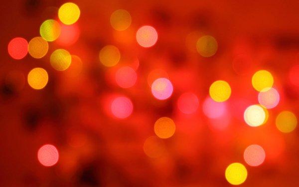 Artistic Bokeh Blur Circle Red HD Wallpaper | Background Image