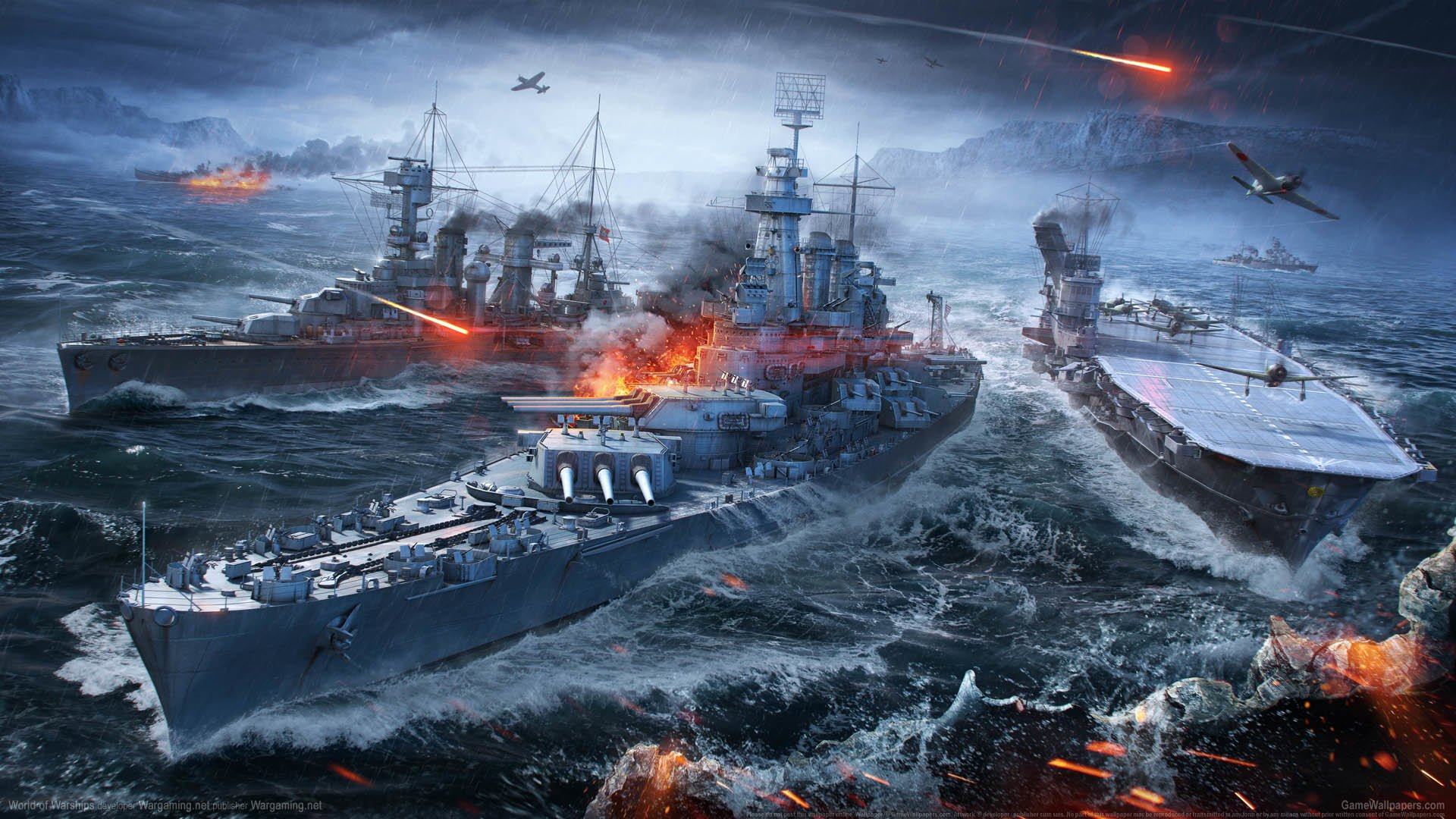 World of Warships Wallpaper