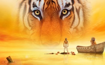 48 life of pi schiffbruch mit tiger hd wallpapers for Life of pi tiger name