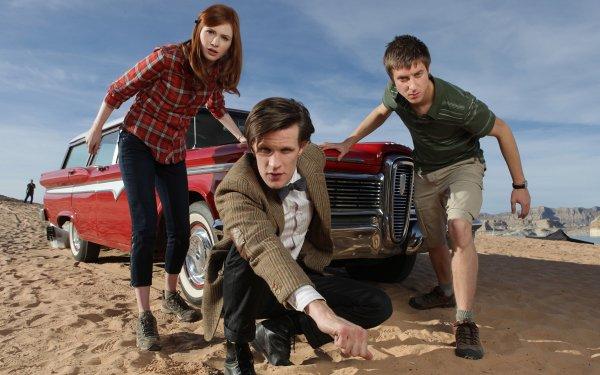 TV Show Doctor Who Matt Smith Karen Gillan Arthur Darvill Amy Pond Rory Williams HD Wallpaper | Background Image