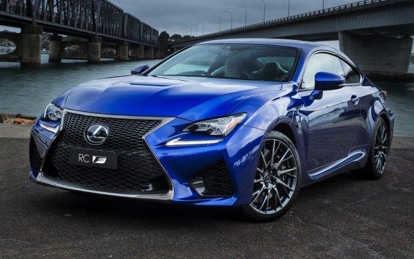 Véhicules Lexus RC  Lexus Luxury Car Blue Car Voiture Fond d'écran HD | Image