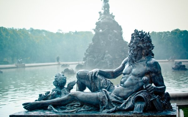 Man Made Statue Bronze Germany Fountain HD Wallpaper   Background Image