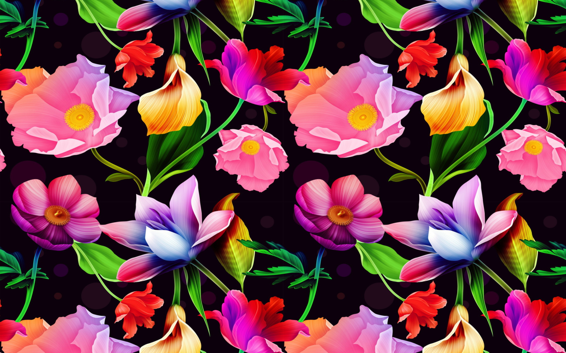 bright flowers computer wallpapers desktop backgrounds
