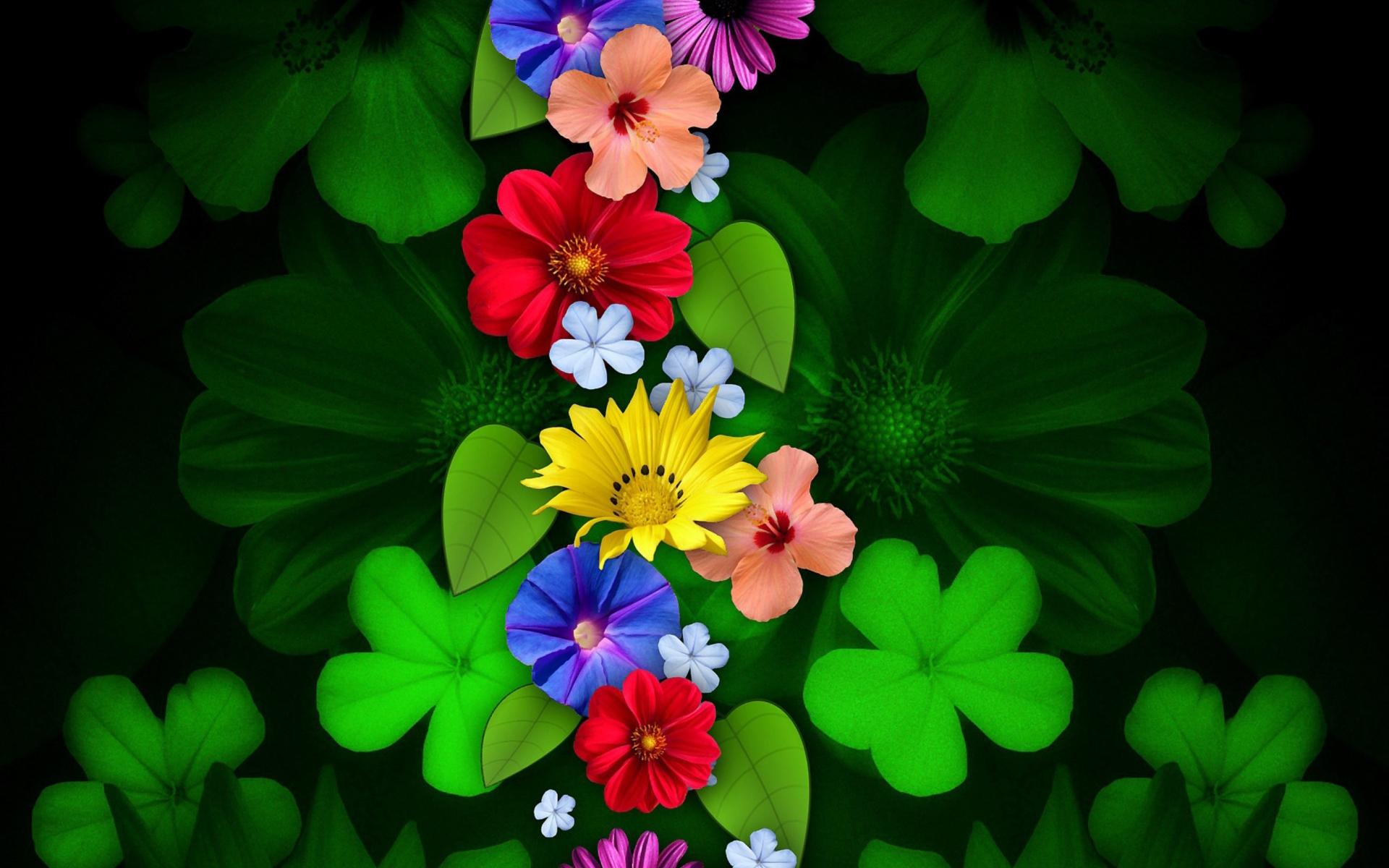 Spring Flowers Wallpaper Desktop Background For Widescreen