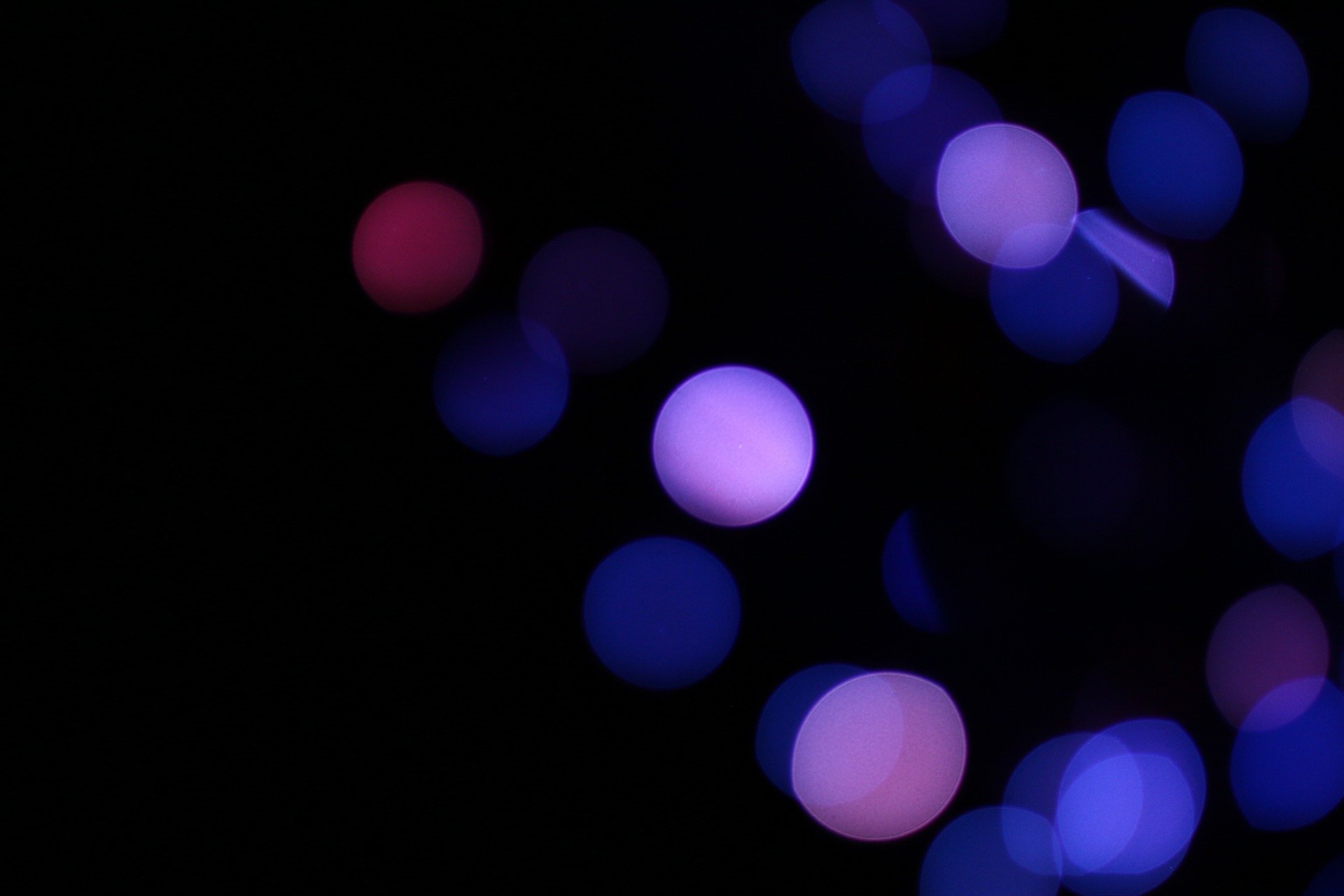 Artistic - Bokeh  Blue Circle Photography Wallpaper