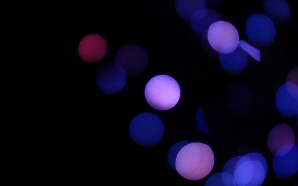 Artistic Bokeh Blue Circle Photography HD Wallpaper | Background Image