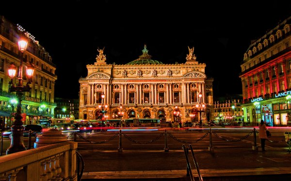 Man Made Palais Garnier Palace Paris France Building Architecture Opera House Theatre HD Wallpaper | Background Image
