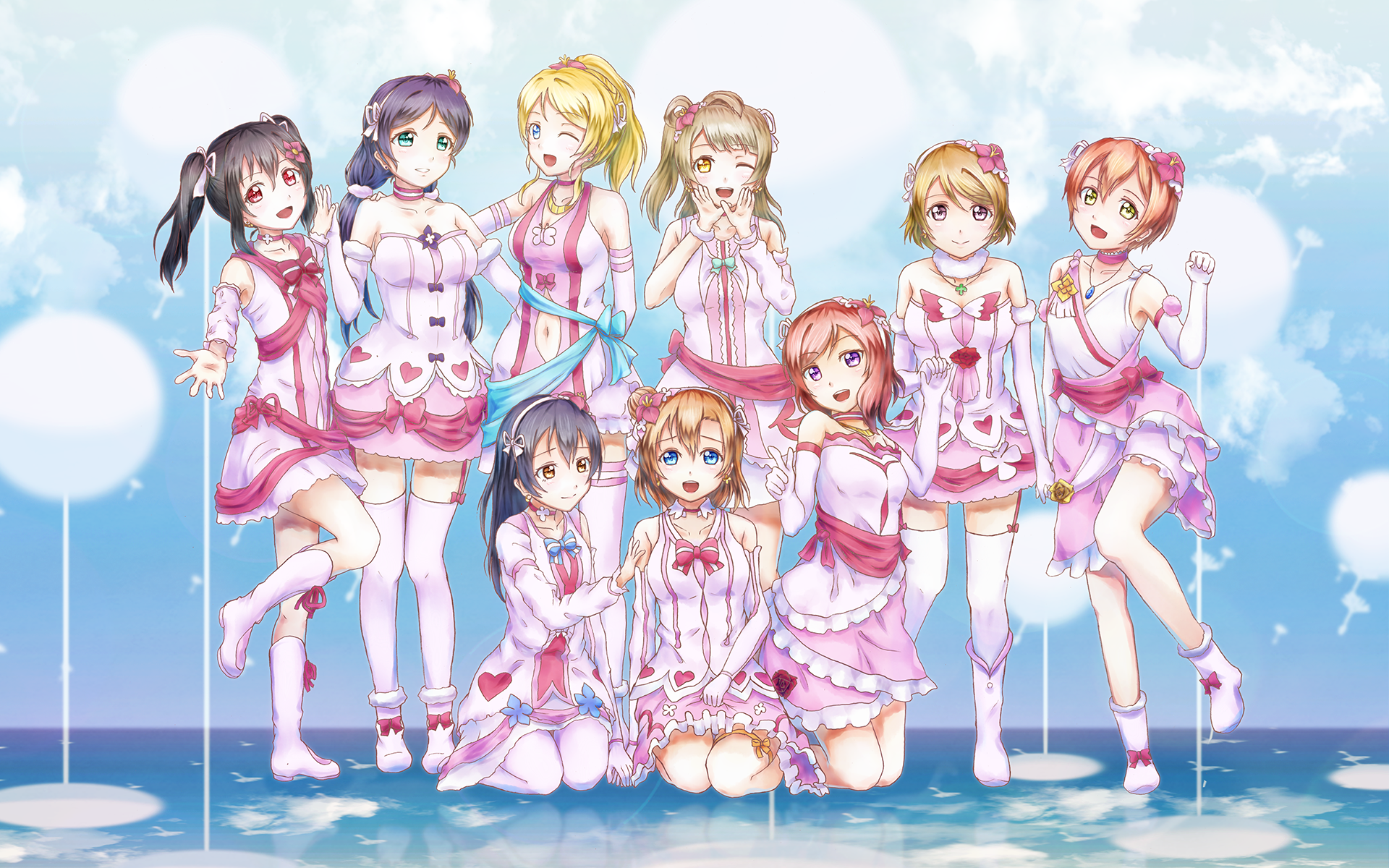 Love Live Hd Wallpaper Background Image 1920x1200 Id 694340 Wallpaper Abyss