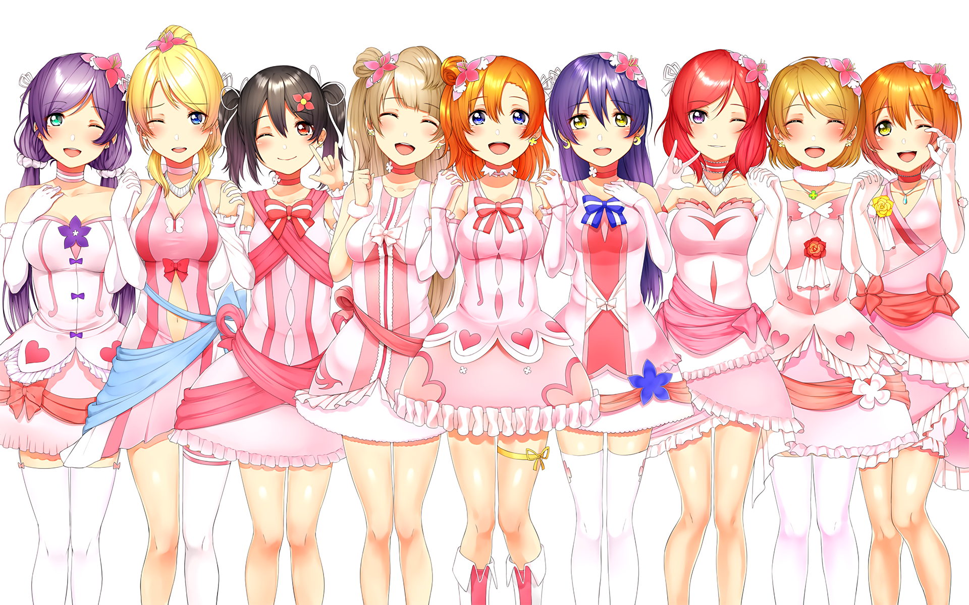 Love Live Wallpaper Full Hd : Love Live! Full HD Papel de Parede and Background Image 1920x1200 ID:694358