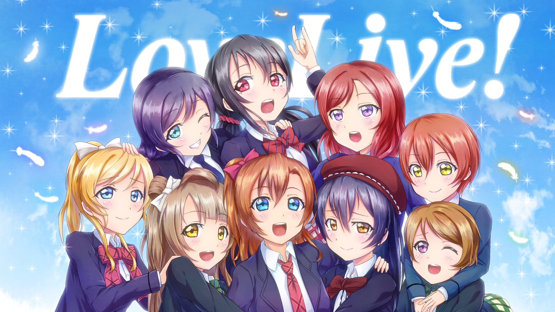 Love Live! HD Wallpaper | Background Image | 1920x1080