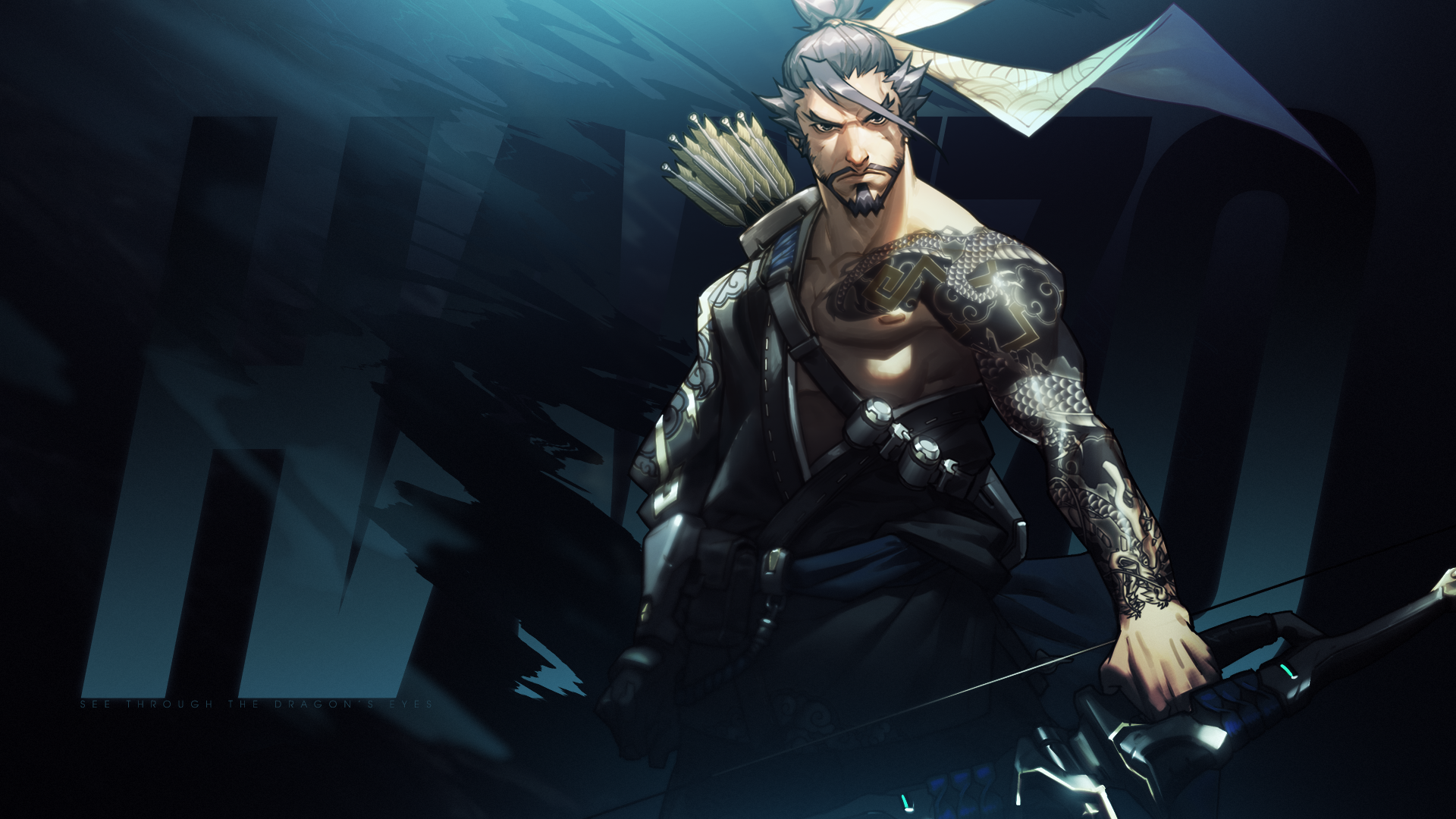 87 hanzo (overwatch) hd wallpapers | background images - wallpaper abyss