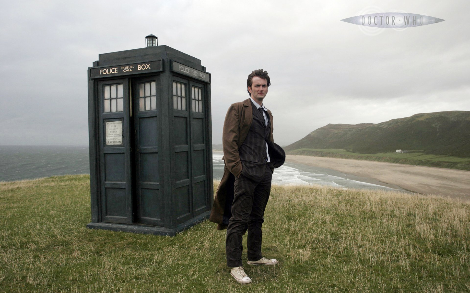 Televisieprogramma - Doctor Who  Tardis Wallpaper